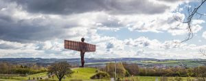Angel of the North by Phil Pounder