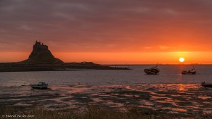 Another day, another sunrise Taken on the Holy Island of Lindisfarne as the sun rose over the distant Farne Islands By David Eccles https://www.flickr.com/photos/104848468@N08/