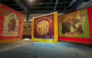 Banners gallery in the People's History Museum