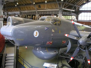 The 1954 Avro Shackleton, built at Woodford, near Stockport, was designed to locate and attack submarines and for search and rescue. It could fly for up to 24 hours and had a crew of up to nine airmen