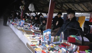A market in North Korea