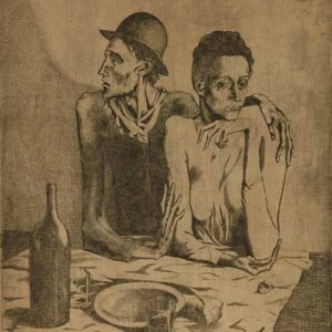 Pablo Picasso, Le Repas Frugal (The Frugal Meal), 1904