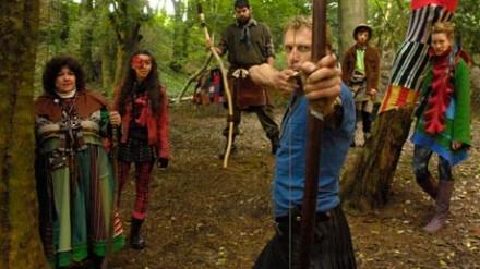 Robin Hood at Williamson Park
