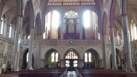 Inside the Holy Name