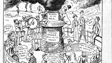 Won't Beautiful Oldham Boom Sam Fitton Cartoon