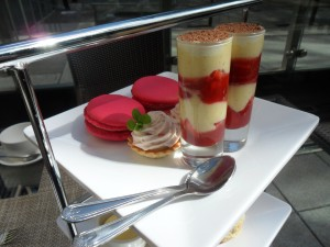 Afternoon tea at DoubleTree by Hilton Manchester Picadilly.