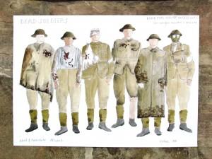 Douglas Skilbeck - Drawings