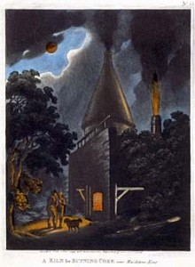ÔA Kiln for Burning Coke, near Maidstone, KentÕ, November 1799