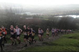 Gravy Pud Fell Race uphill