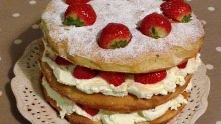 courting cake-mum