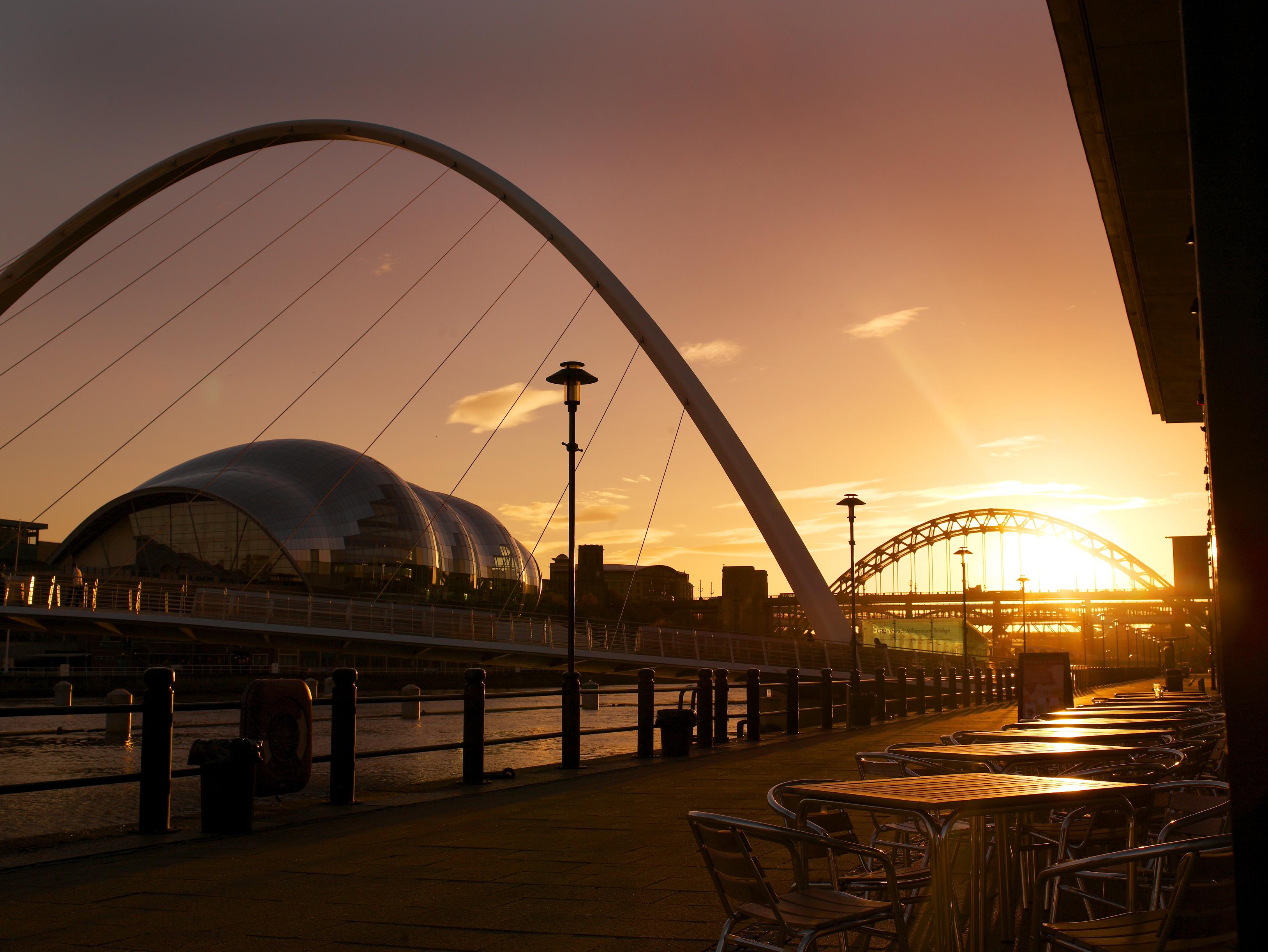 Newcastle  Degrees North Car Park