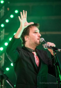 Jon Boden of Bellowhead at Bridgewater Hall, Manchester