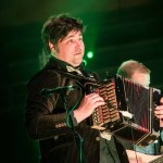 John Spiers of Bellowhead at Bridgewater Hall, Manchester