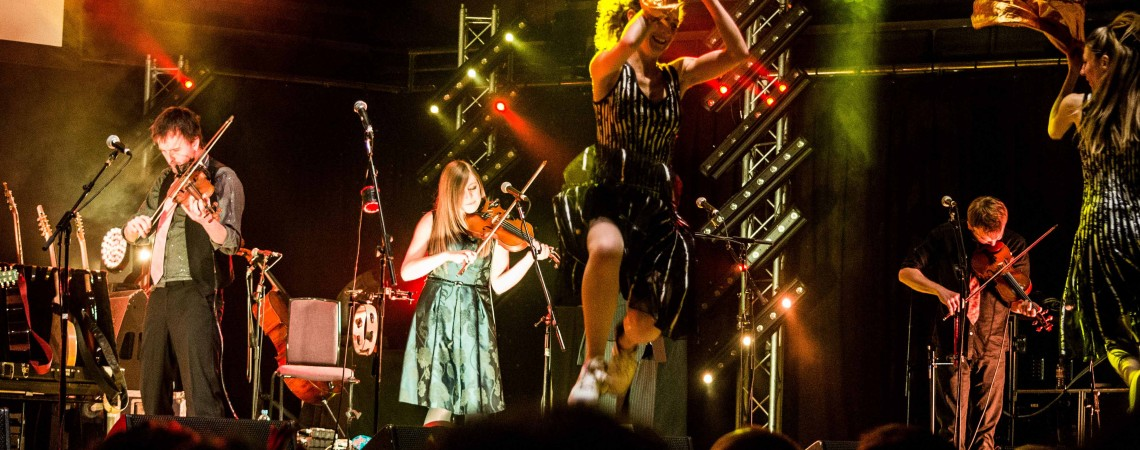 Bellowhead at Bridgewater Hall, Manchester