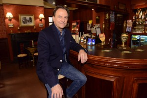 Brian Capron at the Rovers