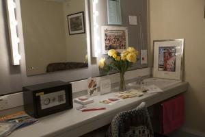 Coronation Street dressing room