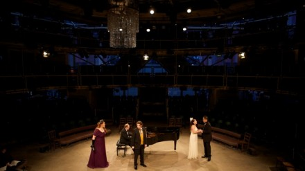 Day of Song2 (Lauren Fielder, Benjamin Lewis, Joanna Norman, Kang Wang with pianist Roderick Barrand) credit Paul Cliff