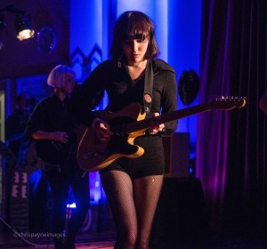 Faith Holgate of PINS at Sound From The Other City Festival, Salford