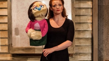 Lucie-Mae Sumner as Kate Monster in Avenue Q. Photo Credit Darren Bell (2)