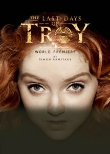 Troy poster with title