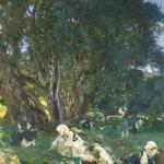 Albanian Olive Gatherers (John Singer Sargent, 1909)