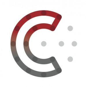 create salford logo red gradient