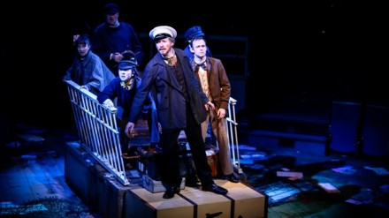 AROUND THE WORLD IN EIGHTY DAYS (Royal Exchange Theatre 17 July - 16 August). Photo - Andrew Billington