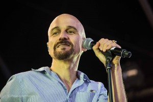 Tim Booth of James at Castlefield Bowl, Manchester
