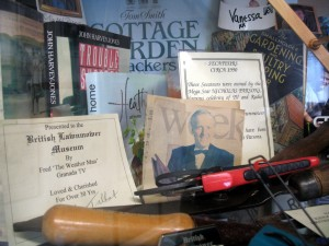 Celebrity donations to the British Lawnmower Museum