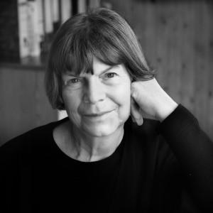 Margaret Drabble BW (c) Ruth Corney