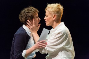 Maxine Peake as Hamlet at the Royal Exchange