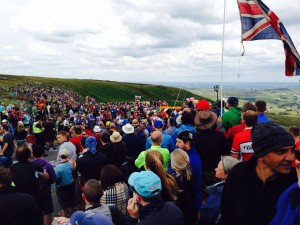 Le Tour on Holme Moss