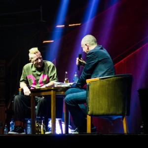 John Lydon, Dave Haslam