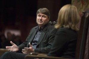 Simon Armitage at Manchester Cathedral