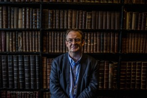 Michael Powell at Chetham's Library, Manchester by Chris Payne