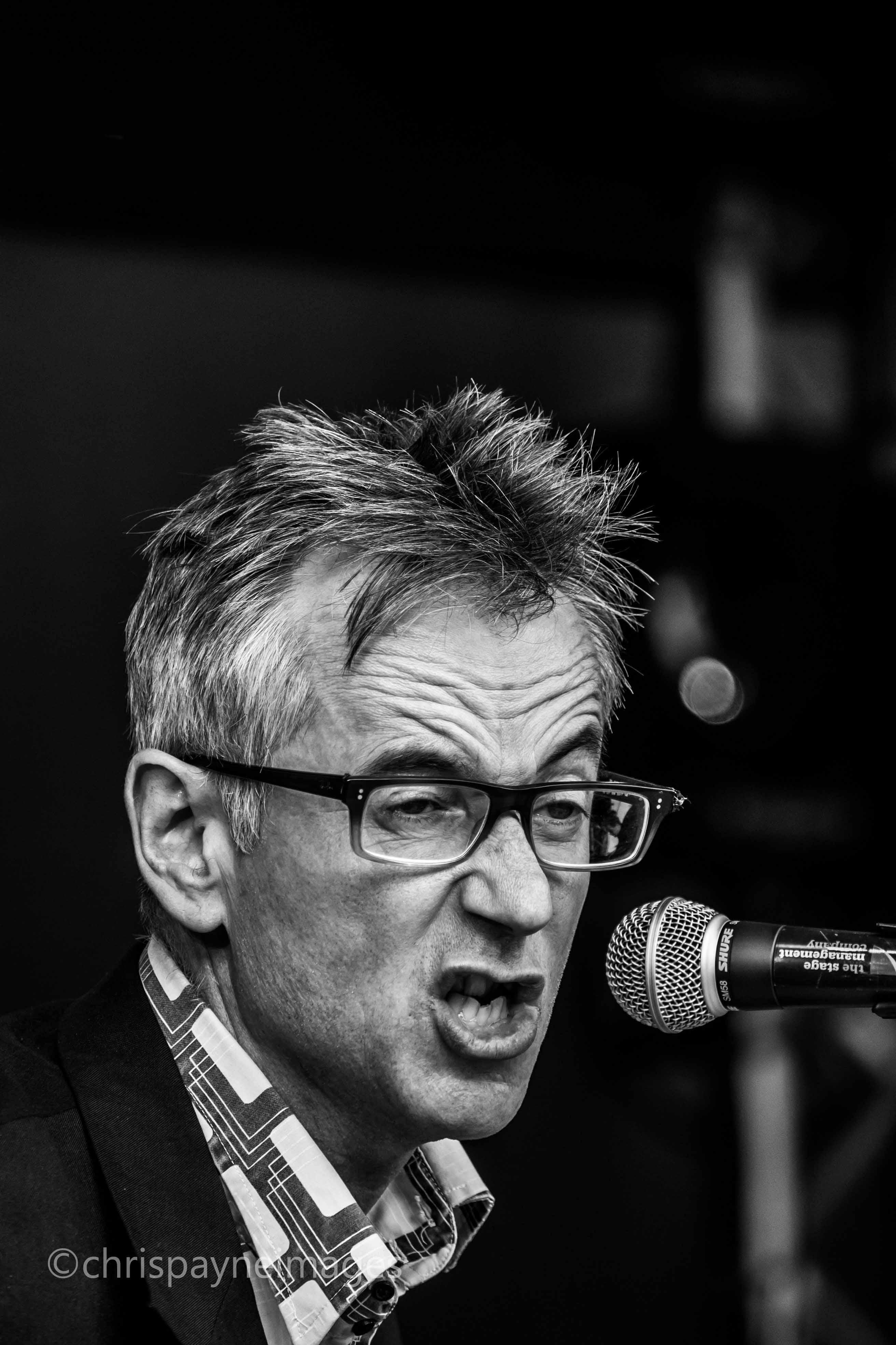 John Hegley glasses