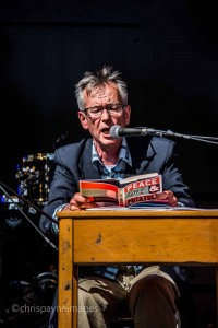 John Hegley reads at Just So Festival