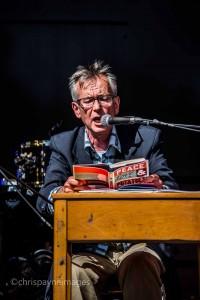 John Hegley reads at Just So Festival