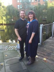 Wendy Pratt's graduation