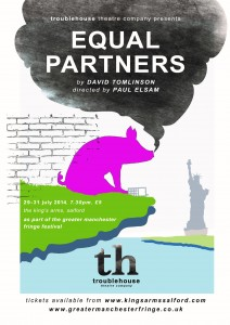 troublehouse theatre's production of Equal Partners