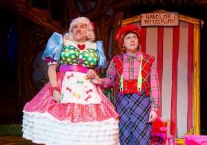 Betty Berry and Woody in Little Red Riding Hood