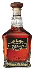 Jack Daniel's Single Barrel - engraved Christmas bottle