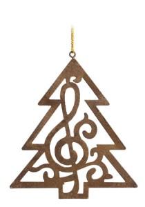 Treble Clef Christmas Tree