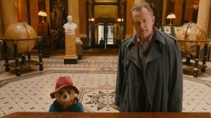 Paddington and Hugh Bonneville as Mr Brown