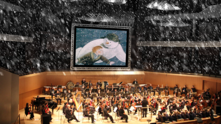 The Halle Orchestra perform The Snowman