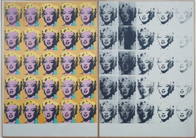 Andy Warhol - Marilyn Diptych 1962