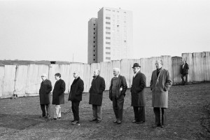 Halifax Town Football Ground, 1977. Martin Parr from Magnum Photos