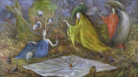Leonora Carrington, The Pomps of the Subsoil, 1947
