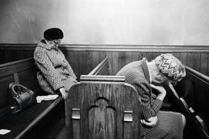 Mankinholes Methodist Chapel, 1975. Martin Parr from Magnum Photos