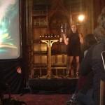 Eleanor Siatta speaks at Haunted Machines